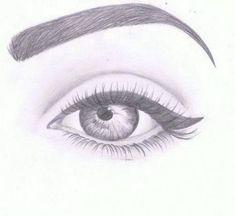 Amazing Eye Drawing Tutorials & Ideas 20 Amazing Eye Drawing Ideas & Inspiration – Brighter Craft See it Easy Eye Drawing, Realistic Eye Drawing, Eye Drawing Tutorials, Drawing Techniques, Eye Sketch Easy, Cute Eyes Drawing, Drawing Faces, Eyes Drawing Tumblr, Crying Eye Drawing