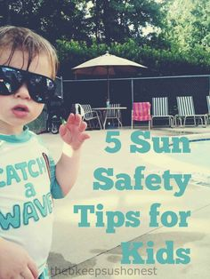 Sun safety tips for kids.  So important all the time ... but especially at Disney World.