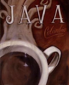 Java Columbia by Darrin Hoover art print