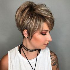 32 Top Short Pixie Haircuts Ideas for Women 2018 / 2019