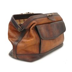Leather Doctor Bag | Bruce | Pratesi | Love Leather Travel Bag