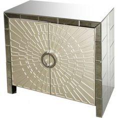 Cassandra Mirrored Cabinet