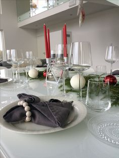 Kattaus | Tablesetting Table Decorations, Christmas, Furniture, Home Decor, Xmas, Decoration Home, Room Decor, Weihnachten, Navidad
