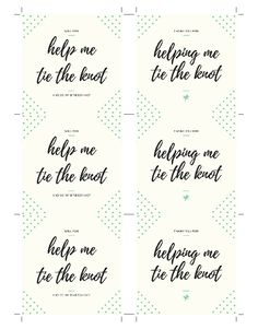 Free bridesmaid printable tie the knot diy wedding supplies diy square card tie the knots knot bracelets stella dot bridesmaid gifts bridesmaids gift cards gift boxes letter spiritdancerdesigns Images