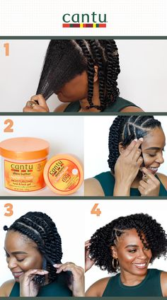 Cute Natural Hairstyles, Protective Hairstyles For Natural Hair, Natural Hair Twists, Twist Hairstyles, Natural Hair Care, Natural Hair Styles, Black Hair Braid Hairstyles, Black Women Hairstyles, Braids For Black Hair