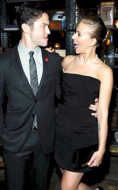 Joseph Gordon-Levitt & Scarlett Johansson