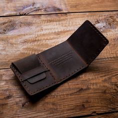 100% Handmade Custom  Vintage Style Genuine Crazy Horse Cowhide Leather Men Small Short Wallet Purse Male-in Wallets from Luggage & Bags on Aliexpress.com   Alibaba Group