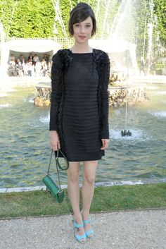 Astrid Bergès-Frisbey Front Row at Chanel Resort