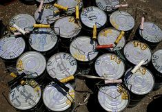 #Indian #tiffin boxes are colour coded for delivery because of the high levels of illiteracy.