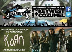 29 September 2014 - Rockaholica Cruise - Carnival Ecstasy - 5 Day - ex Miami, Florida @ http://www.rockaholicacruise.com/