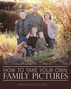 DIY Family Portraits: The *Free* Cheat Sheet - Creatifully Family Pictures, Couple Photos, Aperture, Creative Photography, Family Portraits, Landscape, Diy, Free, Couple Shots