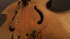 Violon Violino Violin Italie ?? Déco Artisanal Signature MANUSCRITE a IDENTIFIER