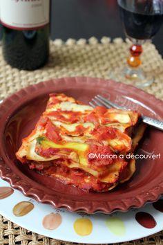 Recette de Lasagnes aux légumes et à la mozzarella