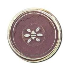 Honeybee Gardens: Powdercolors Gluten-Free Vegan Stackable Mineral Color, Spellbound, 2 grams. PowderColorsTM is a blend of pure mineral pigments & oxidized mica, w/ no fillers or preservatives. PowderColorsTM is totally vegan!. Used as eyeshadow, eyeliner, blush, or mix with our Clear Nail Enamel for custom nail polish colors!. Spellbound - medium matte plum lavender with both pink and blue undertones.