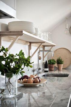 Kitchen Interior, Room Interior, Interior And Exterior, Kitchen Dining, Kitchen Decor, Simply Home, Industrial Style Kitchen, Interior Decorating, Interior Design