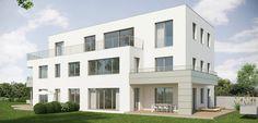 Wohnen am Stadtfeld - exklusive #Immobilie in #Salzburg von Eisl #Architektur Salzburg, Planer, Modern, Multi Story Building, Mansions, House Styles, Design, Home Decor, Exclusive Real Estate