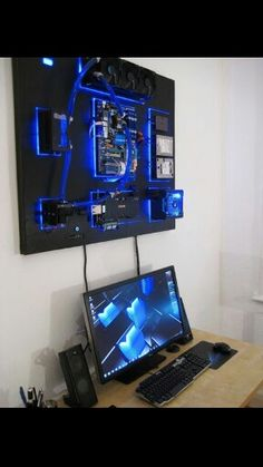 What I really want, water cooling system