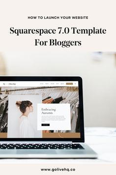 Olivia May is a modern, minimal and stylish 7.0 Squarespace Template crafted for bloggers to show off strong photos and fresh content. This template is perfect for lifestyle bloggers who monetize with affiliate programs (such as RewardStyle Or Amazon affiliates) or host their own online shop with digital or physical products. Minimal Photo, Website Ideas, Website Template, Blogging, Web Design, Strong, Templates, Content, Fresh