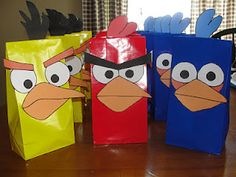 A crazy amount of Angry Bird party DIY ideas.