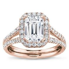 Brilliant 1.50ct Natural Diamond 14k Rose Gold Bridal Ring Set Engagement Band Commodities Are Available Without Restriction Jewelry & Watches
