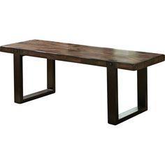 Wildon Home ® Wood Kitchen Bench