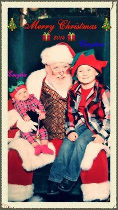Emy, Santa, & Chrystian; 2014