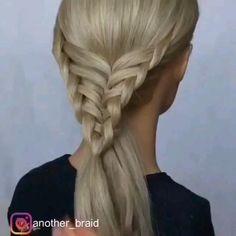Easy Hairstyles For Long Hair, Pretty Hairstyles, Braided Hairstyles, Girl Hair Dos, Toddler Hair, Hair Videos, Bridesmaid Hair, Hair Hacks, Hair Trends