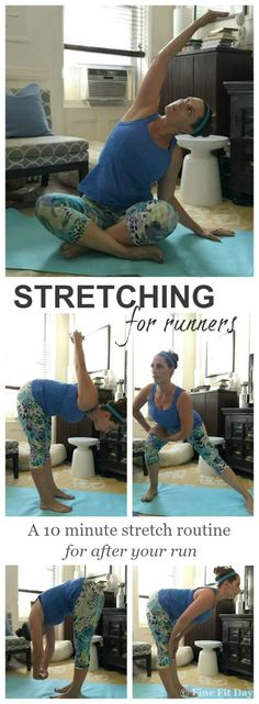 Want a great routine of stretches for runners? These easy, yoga inspired exercises will have you feeling flexible and relaxed following your next run. Work on your fitness while running, then your mobility with these stretches.