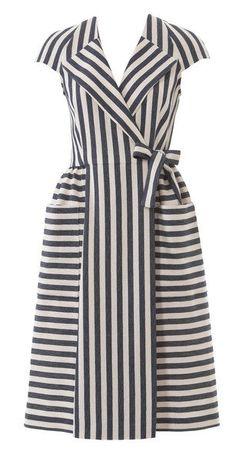 BurdaStyle Lapel Wrap Dress 121 04-2015