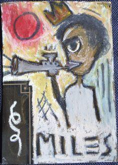 vintage Jean-Michele Basquiat NYC 1980 authentic portrait postcard Grafitti face #NeoExpressionism