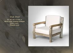 Driftwood Furniture Collection - Club Chair