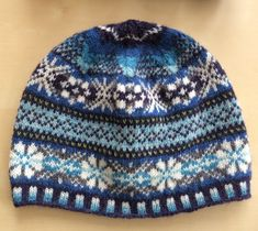 Bespoke 'Berwick' hat based on inspired by the sea