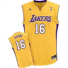 Camiseta NBA Pau Gasol Angeles Lakers Amarilla desde $64.85 (-11%)
