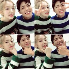 Uploaded by Irene. Find images and videos about kpop, red velvet and irene on We Heart It - the app to get lost in what you love. Irene Red Velvet, Exo Red Velvet, Kpop Couples, Cute Couples, Park Bo Gum Irene, Park Bo Gum Photoshoot, South Korean Girls, Korean Girl Groups, Selfies