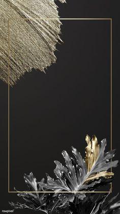 premium illustration of Rectangular golden frame on a nature Rectangular golden frame on a nature background Frühling Wallpaper, Black Background Wallpaper, Golden Background, Phone Wallpaper Images, Frame Background, Cute Wallpaper Backgrounds, Pastel Wallpaper, Flower Backgrounds, Background Patterns