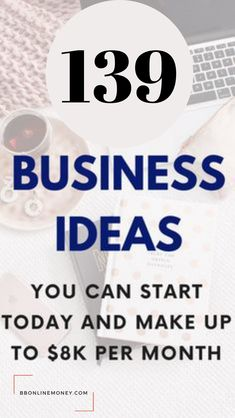 Don't wait any longer! Start your profitable online business today! Check out these epic 6 business ideas that you don't need money to start, no experience just your desire to help people and make money online! 139 Business Ideas You Can Start Today You Shouldn't miss #business #onlinebusiness #businessideas #ideas #makemoneyonline