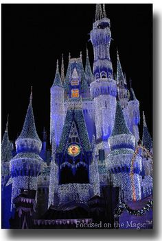 3. #momselect #yoursantastory  A trip to Disney World!  The castle dream lights are even more beautiful in person!