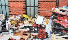 En un mundo donde hay tanta gente hambrienta el alimento se desperdicia en todos lados.