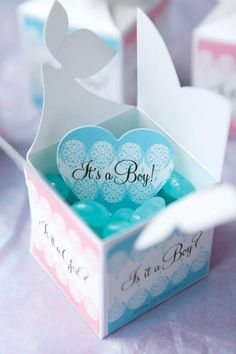 Baby Gender Reveal Gifts from My Own Ideas blog