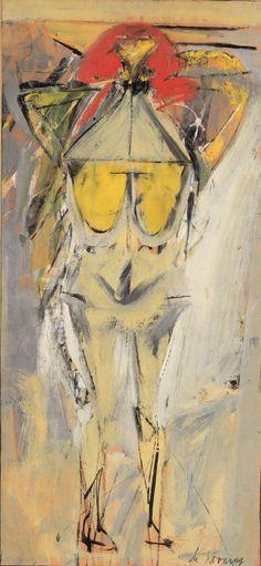 drawpaintprint:  Willem de Kooning: Figure in a Landscape, No. 2 (1951)