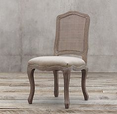 RHu0027s Vintage French Camelback Cane Back Fabric Side Chair:Our Chairu0027s  Curvaceous Lines And Generously