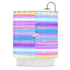"Kess InHouse Nina May ""Drip Dye"" Paint Pastel Shower Curtain, 69 by 70-Inch Kess InHouse http://www.amazon.com/dp/B00NMBUHBQ/ref=cm_sw_r_pi_dp_mBevub073QFYE"