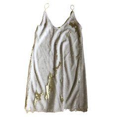 Glitter mini dress Free People White size 8 UK in Glitter - 10931558 White Glitter, White Lace, White Dress, Gold Sequin Dress, Gold Sequins, Free People Dress, Designer Dresses, Dress Outfits, Nice Dresses