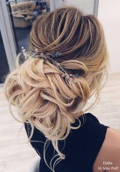 Wedding Hairstyles :   Illustration   Description   Elstile Wedding Updos Long Hairstyles for Wedding    -Read More –   - #WeddingHairstyle https://adlmag.net/2018/01/12/wedding-hairstyles-elstile-wedding-updos-long-hairstyles-for-wedding-21/