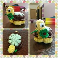 Turtle newborn - amigurumi - crochet