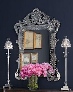 Stunning Venetian style mirror  http://rstyle.me/~1fZDl