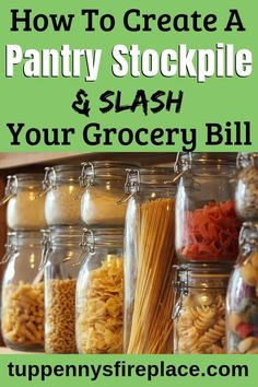 Love this simple beginners guide to building a grocery stockpile. Great ideas on food storage and how to get started. Tips for your emergency stockpile and the top 15 items you should store. Frugal Living Tips, Frugal Tips, Frugal Meals, Budget Meals, Emergency Food, Emergency Kits, Save Money On Groceries, Groceries Budget, Amigurumi