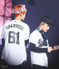 Chanyeol e D.O no EXO'rDIUM