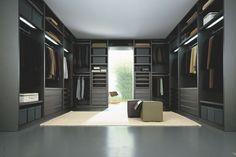 Poliform - Senzafine Walk-In Closet by CR&S Poliform for Poliform
