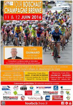 Tour Boischaut Champagne Brenne Baudres, Levroux, Lingé, Saint-Michel-en-Brenne, Valençay, Samedi 11 Juin 2016, 15h00 > Dimanche 12 Juin 2016, 18h00